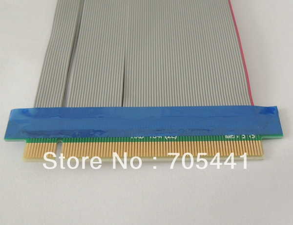 PCI-E PCI Express 16X Riser Card Extender Flexible Extension Cable,50pcs/lot DHL Free Shipping