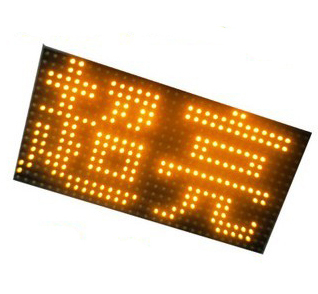 Free shipping Epistar Chip 3500 Nits Outdoor P10 Led Display Module, YELLOW, Led Moving Message Display for Advertising(China (Mainland))