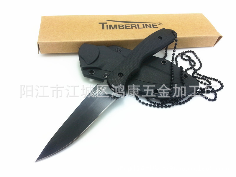 58HRC440ASmall Fixed Blade knife 089 giftOutdoor necklace knife tool collection gift(China (Mainland))