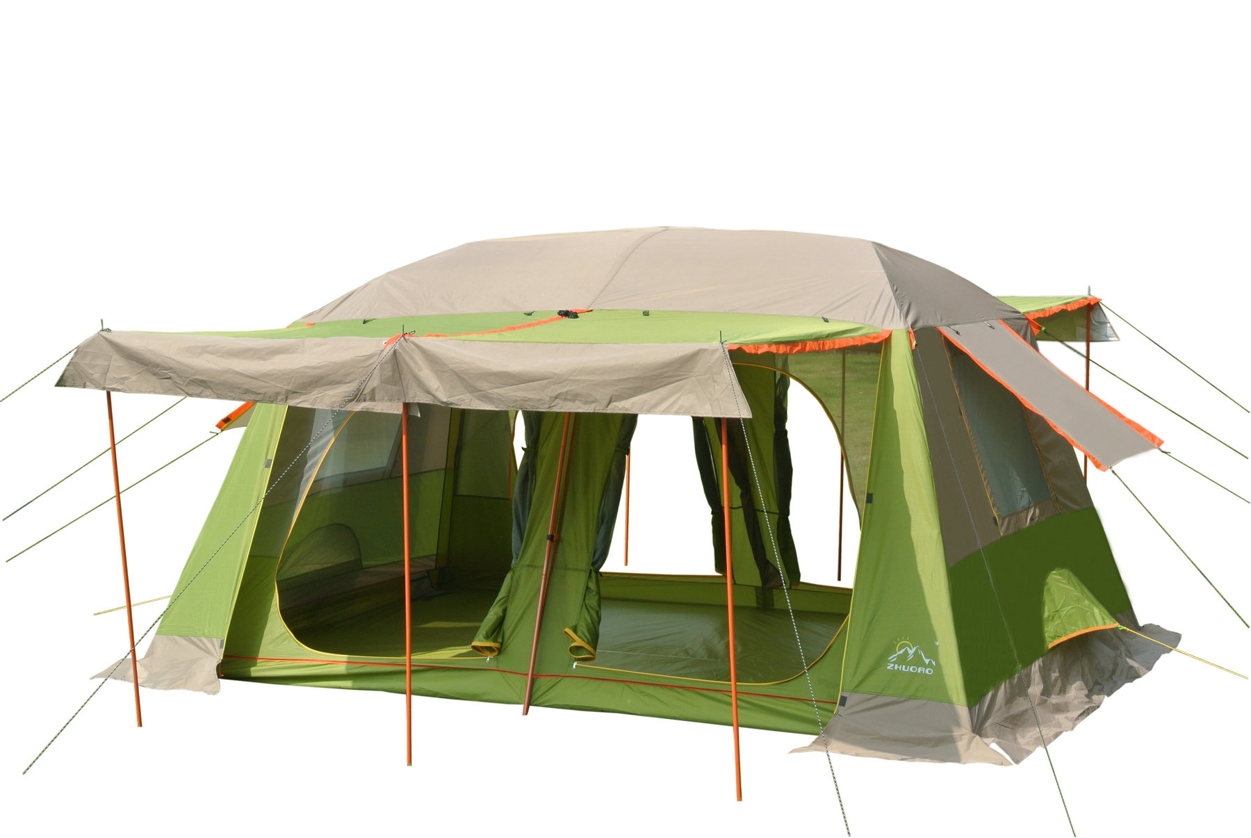 10 person tent double layer outdoor tent many people tent two bedrooms