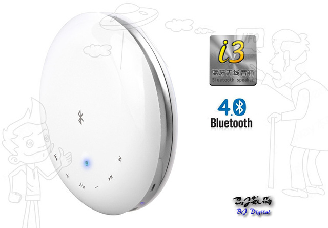 NEW UFO Mini Boombox speaker work for iphone Wireless Bluetooth Speaker Touch Screen Audio Portable Speaker