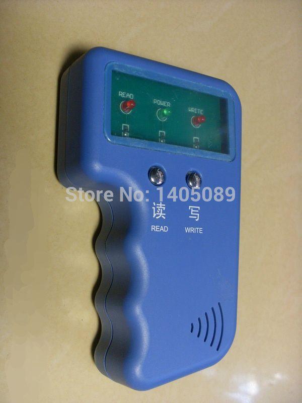 Handheld 125Khz RFID Copier Duplicator Copy Writer for EM4100 tk4100 EM4305 t5577 Card Tag keyfobs +2pcs writable keyfobs(China (Mainland))