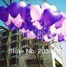 pearl heart shape small 5inch=13cm colorful Latex Balloons for Birthday Wedding Party decor 4 color option wholesale retail whcn(China (Mainland))