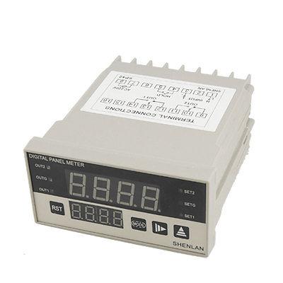 Peak Holding Alarm Indicator 4 Red LCD Digital 100V DC Volt Panel Meter<br><br>Aliexpress