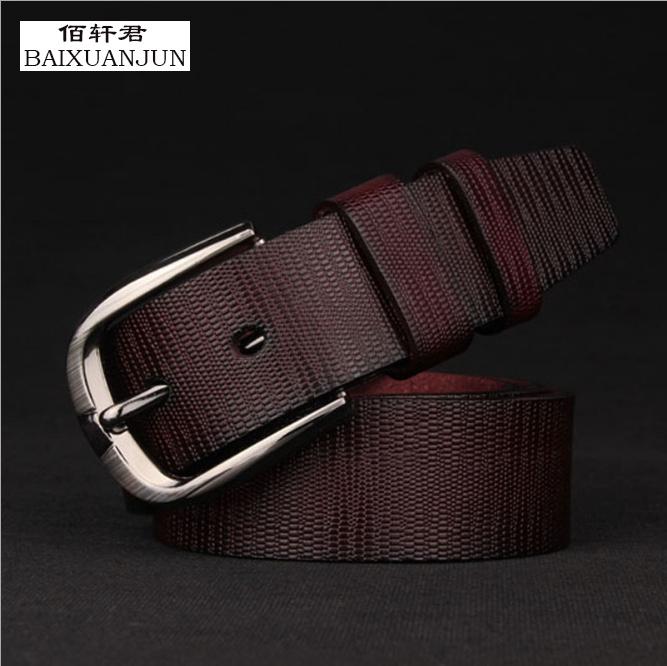 [BAIXUANJUN] Men's retro pin buckle belt men's fashion belt high quality new popular wild casual fashion brand belt(China (Mainland))