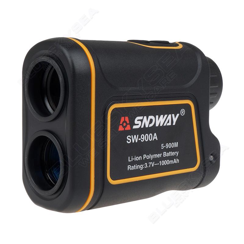 SNDWAY SW-900A 900M Laser Range Finder Scope Meter Speed Measurer Monocular Rangefinder 8x Distance For Outdoor Sports Monocular