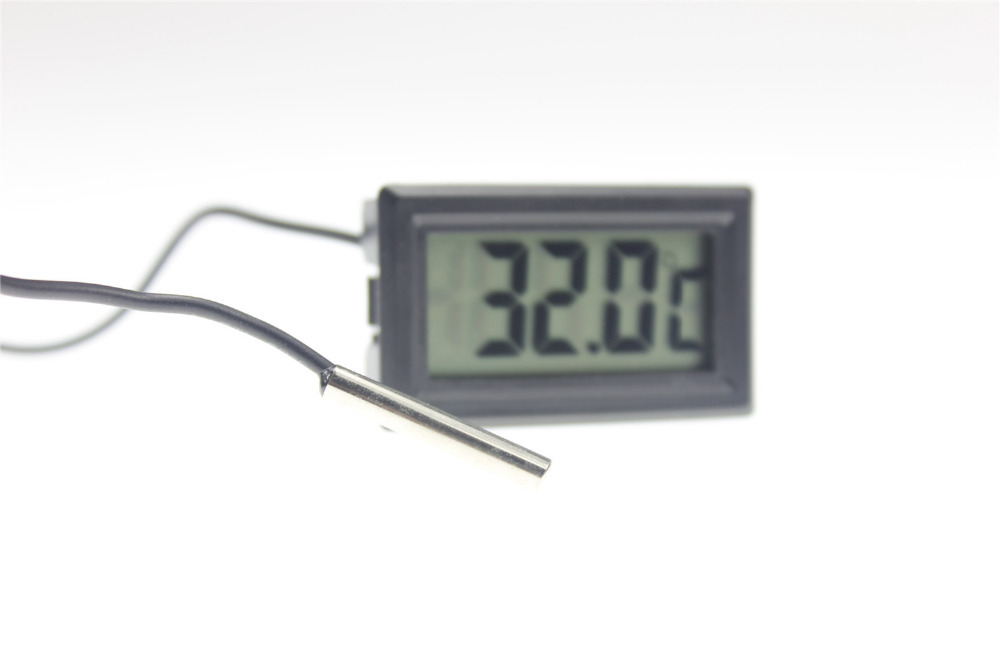 Digital Refrigerator Thermometer Waterproof Freezer