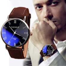 SPlendid Men Watches 2015 Luxury Fashion Faux Leather Mens Quartz Analog Watch Watches