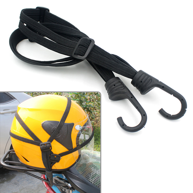 Motorcycle font b Helmet b font Luggage Rope Net Bungee Cord Bandage Strapping Tape Elastic Strap