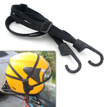 Motorcycle Helmet Luggage Rope Net Bungee Cord Bandage Strapping Tape Elastic Strap Net Motorcycle Accessories