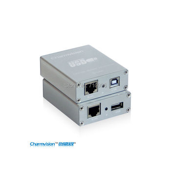 Charmvision EU151P, USB Extender with power adopter, USB extender with 1 port to connect device, extender compatible USB2.0
