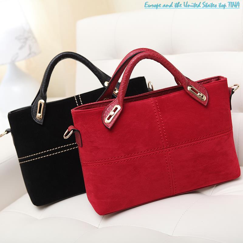 2015 Women Messenger Bags Zipper Casual Bags Designer Handbags High Quality Bolsas Femininas Women's Handbags Large(China (Mainland))