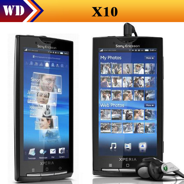 X10i Sony Xperia X10 8MP Wi-Fi Android 4.0 inches cell phone refurbished(China (Mainland))