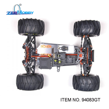 HSP RACING RC Car Toy HSP 1/8 Advanced Nitro Monster Truck Kit Version 4WD Off-Road (94083-KIT)(China (Mainland))