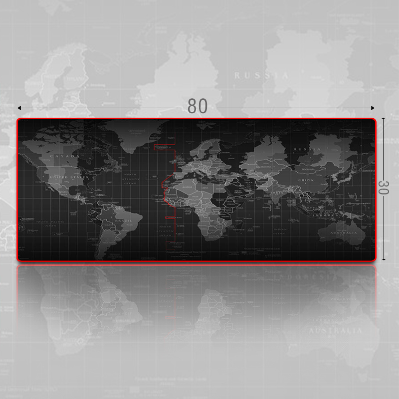 Natural rubber Rakoon Large Gaming Mouse Pad Locking Edge Mouse Mat Version For Internet Bar Mousepad large mouse pad oversized(China (Mainland))
