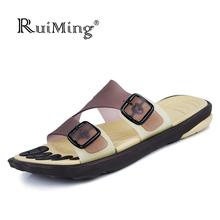 HOT Sale New 2016 Summer fashion Sandals super soft comfortable Slippers Summer shoes slides men Beach Sandals 3 Color