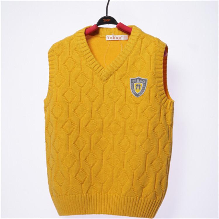 2015 spring and autumn hot sale baby boys fashion vests little boys sweaters boys sleeveless clothing YBA51859(China (Mainland))