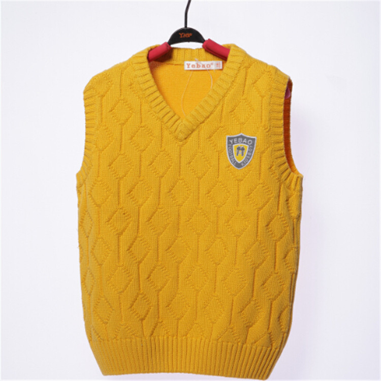2015 spring and autumn hot sale baby boys fashion vests little boys sweaters boys sleeveless clothing YBA51859(China (Mainland))