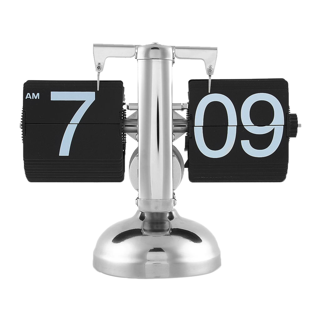 Unique Gift Retro Nice Desk Wall Auto Flip Clock Number New Design Simple Modern(China (Mainland))