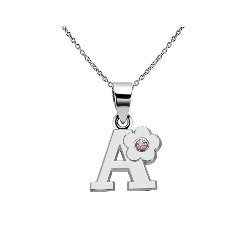 my shape Little Girls Name Necklace Eco Friendly Alloy English Letter Alphabet A B C D E F G H I J K L M N Capital Pendant(China (Mainland))