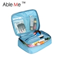 Hot Sale 2016 Nylon Multifunction Make Up Organizador Ourdoor Travel Bag Girls s Trousse De Maquillage