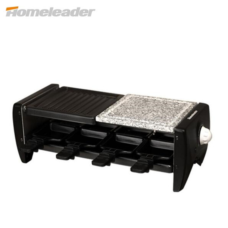 Homeleader Portable Barbecue Grill Electric Smokeless Korean Style Grill For Family/Party/Outdoors Picnic Grill Machine K45-021(China (Mainland))