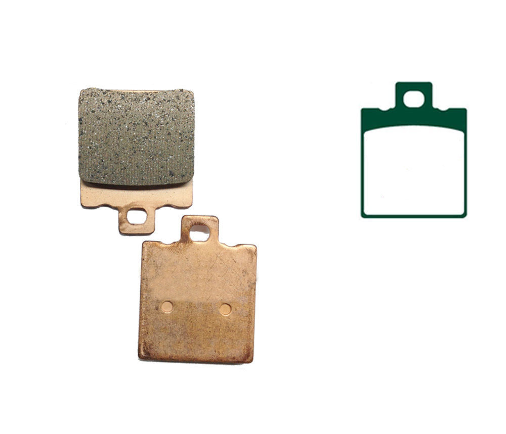 Motorcycle Copper Based Sintered Brake Pads For HRD WH 125 Road Red Horse WH125 1985- Motor Front Brake Disk(China (Mainland))