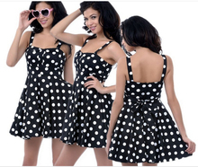 Women's 1950s Vintage Polka Dot Rockabilly Swing Dresses sexy party dress