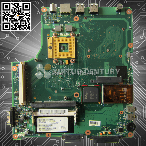 V000108040 Motherboard for Toshiba A200 A205 945 non-integrated motherboard 100% test(China (Mainland))