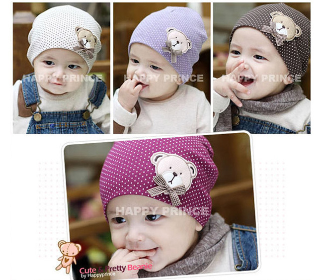 Hot sales baby hat 0-6M carton animal bear cotton embroidery multicolor lovely soft newborn hat infant beanie high quality(China (Mainland))