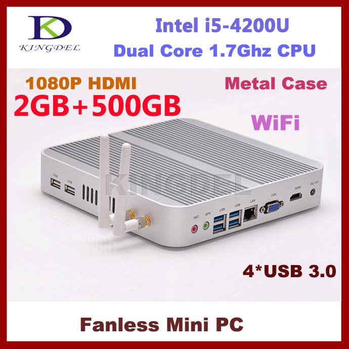 New Thin Client Cloud computer 2GB RAM+500GB HDD Intel i5-4200U Dual Core CPU 1.6Ghz WiFi, 1920*1080, multi language supports(Hong Kong)