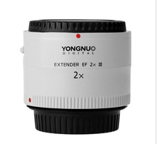 Buy Original Yongnuo YN-2.0X III PRO 2x Teleconverter Extender Auto Focus Mount Lens Camera Lens Caon E*OS EF Lens for $171.99 in AliExpress store