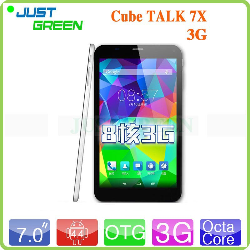 New Cube Talk 7X C8 MT8392 Octa Core Tablet PC 7 inch 1024*600 IPS Screen Phone Call Tablet PC WCDMA GPS Bluetooth FM(China (Mainland))