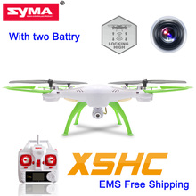 With two Battery Newest Syma X5HC RC Quadrocopter Drones With Camera RC Helicopter Updated X5SW Helicopter Drones Kvadrokopter