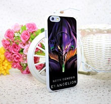 Evangelion White Hard Case Cover for iPhone 6 6s plus 5 5s 4 s White Skin Print Series