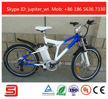 2015 Modern Teenager Style Electric Mountain Style Electric Bike Li-ion Battery Electric Bicycle JSE-76