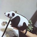 Cute Panda Women Bag Baby Girl Mini messenger Shoulder Bag For Women Cross Body Bags Lady