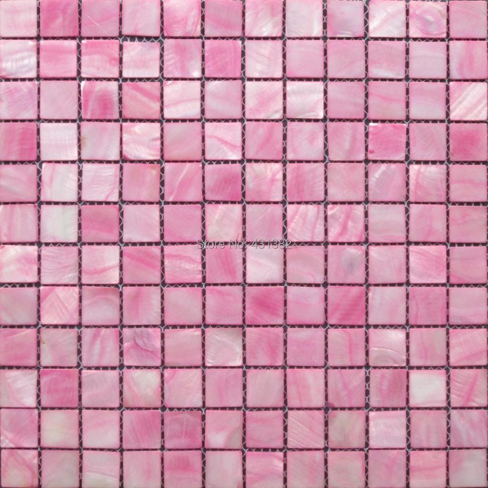 neue style hyrx shell mosaik fliesen perlmutt mosaik fliesen farbstoff rosa farbe fabrik. Black Bedroom Furniture Sets. Home Design Ideas