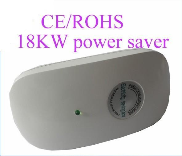 20pcs/1lot Energy Saver 30%-50% , 18KW Electricity Saving Box US/UK/EU/AU Plug Power Saver free shipping(China (Mainland))