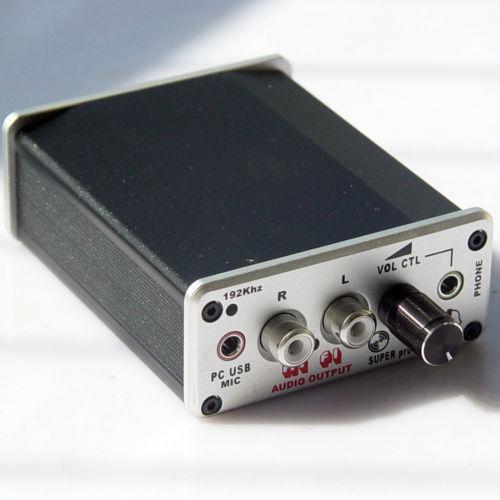 LY 24bit 192KHZ DAC USB sound card Optical fiber Input USB coaxial output-A8(China (Mainland))