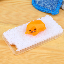 Fashion cartoon gudetama Case Cover for iphone 6 4.7 inch Egg Rice partern Mobile phone case/shell cSJK0995