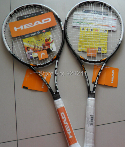 2015 free shipping men 4 3/8 (3#Male)brand 100% carbonic tennis rackets Head YouTek IG Speed MP300 rackets sport colour yellow(China (Mainland))