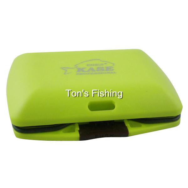 2015Square Waterproof Small Fishing Accessories Box Fishing Tackle Box(China (Mainland))