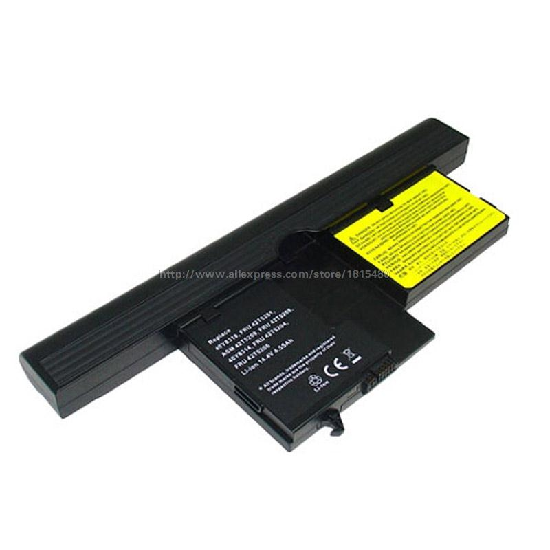 14.4v 5200mah Laptop Battery for Lenovo ThinkPad X60 X61 Tablet PC 40Y8314 40Y8318 42T5209 42T5204 42T5206 42T5208 42T5251(China (Mainland))