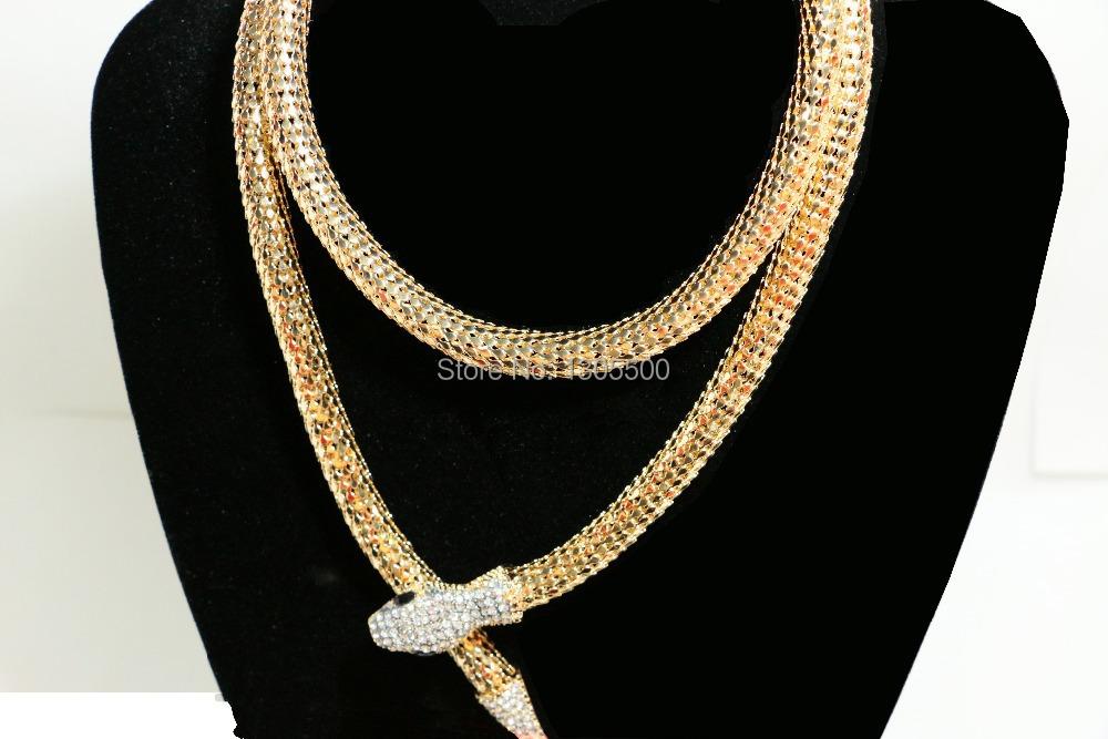 Snake chain necklace necklace set auger snake necklace(China (Mainland))