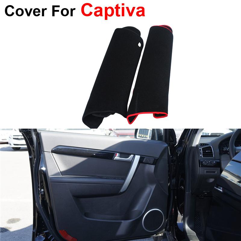 New Car-Styling 4pcs/set Door Protector Car Covers Pad For Chevrolet Captiva 2012 2013 2014 2015 Protecter Anti-kick Mat(China (Mainland))