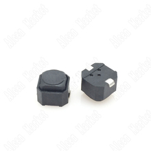 6000pcs/lot Button Tact Touch Switch Silence Soundless SMT Silicone 6*6*6H(China (Mainland))