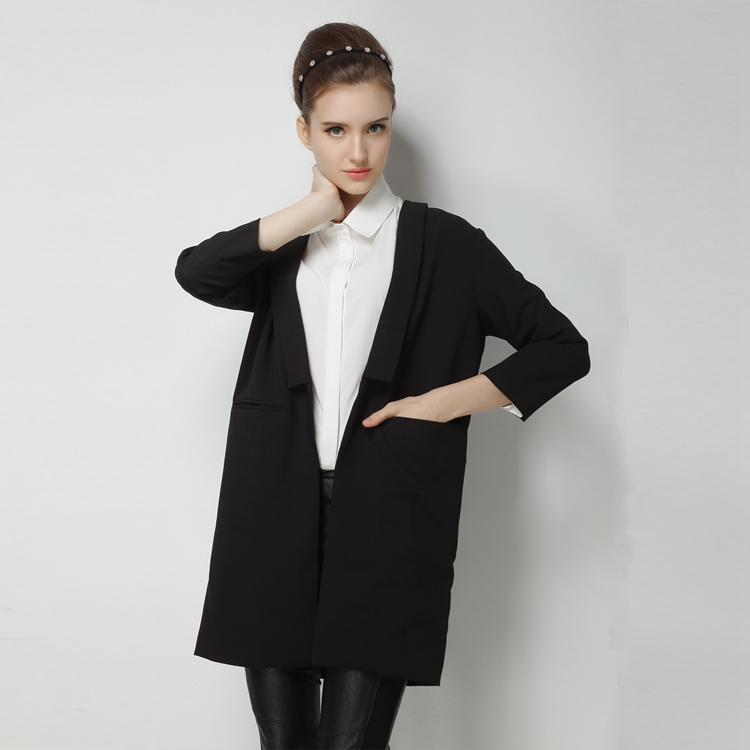 Long Suit Jacket Womens Dress Yy