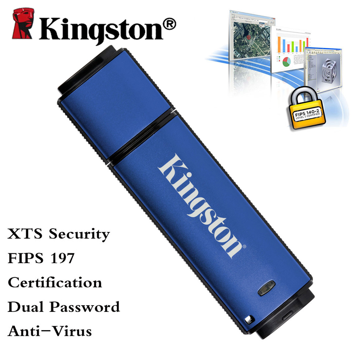 Kingston cle usb 3.0 flash memory pen driver portable storage stick 8gb microDuo usb otg(China (Mainland))