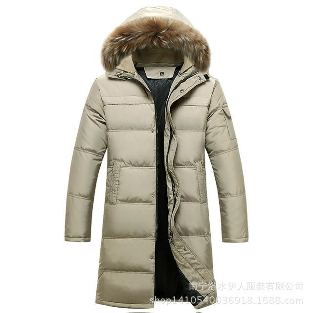 2015 новые внизу куртка зимняя куртка мужчины высокое качество пуховик с капюшоном ...